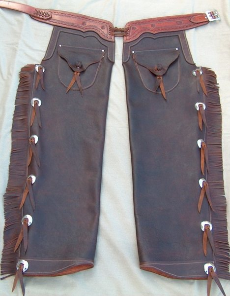 Old West Custom Made Chaps / {Location}: Chaps\\n\\n1/1/2003 1:17 AM