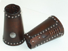 Old West Studded Cuffs with Concho