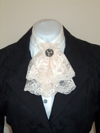 Ladies Lace Jabot - Doves And Dandy's Westernwear