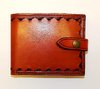 Classic Men's  Billfold Wallet With Snap