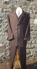 Mens Three Piece Sack Suit